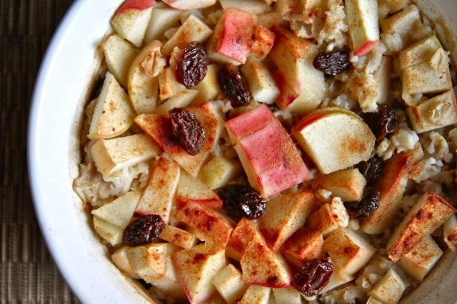Baked Apple Oats