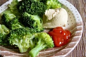 Broccoli and Ketchup