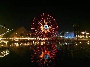 California Adventures Night Time