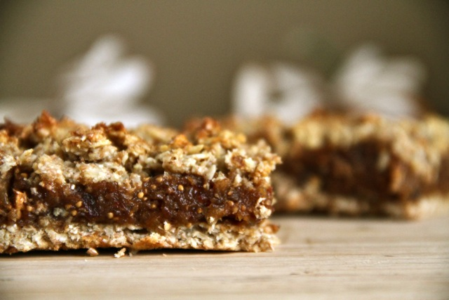 Fig and Date Oatmeal Bars