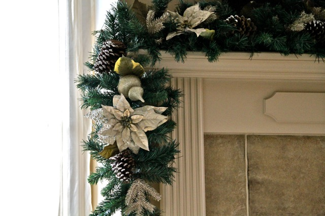 Christmas Garland Ideas For Small Fireplace : It s beginning to look a lot like christmas running