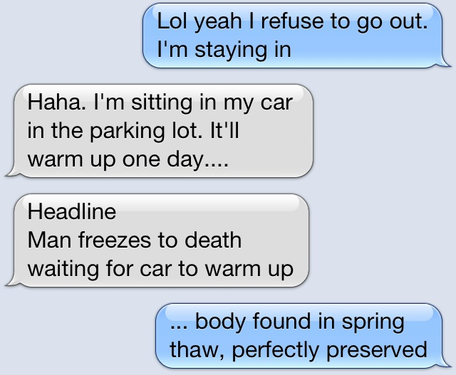Freezing Cold Funnies