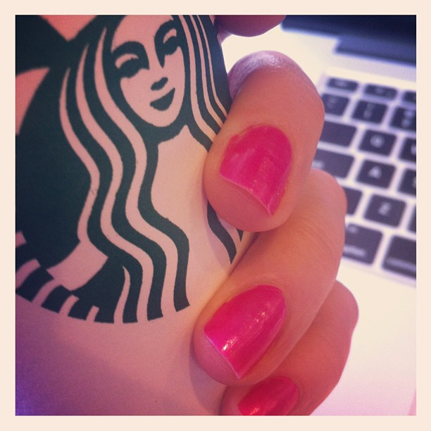 Nails With a Side of Coffee