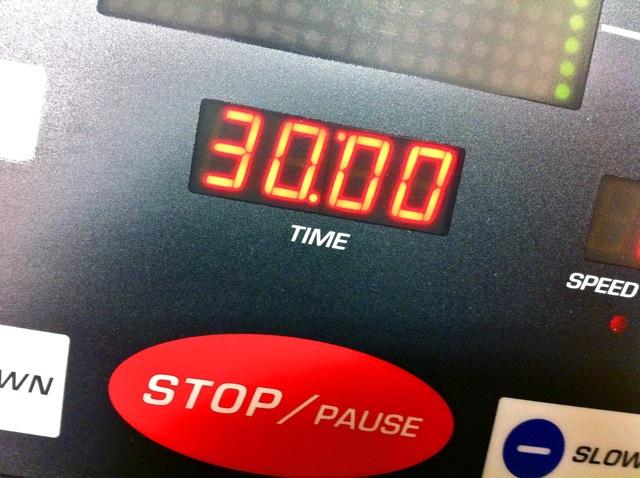 Treadmill Session