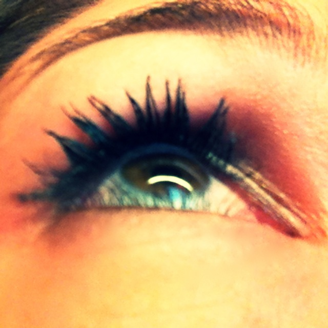 it's the little things... like good mascara . - . running with ...