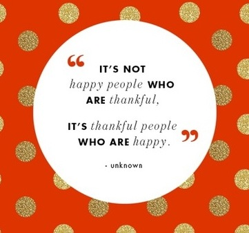 Happy and Thankful