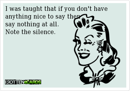 Note the Silence