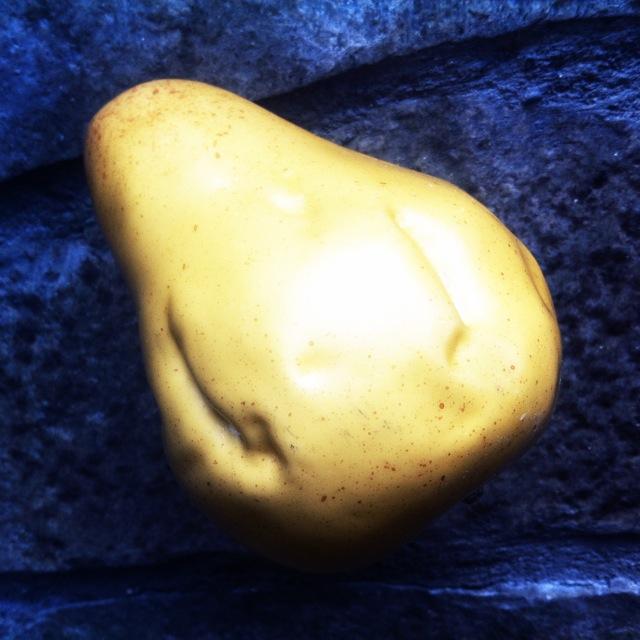 Bitten Plastic Pear