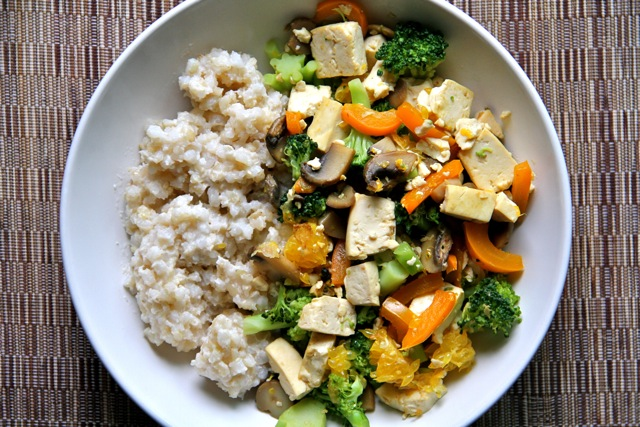 Coconut Stir Fry