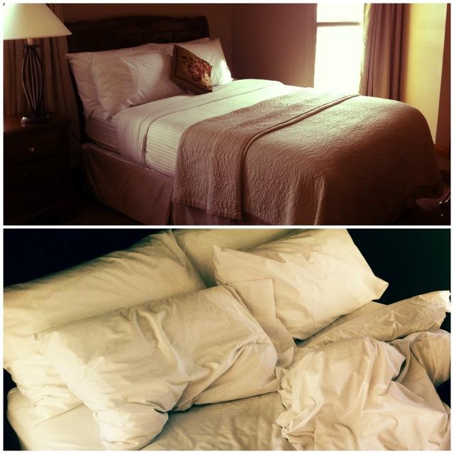 Comfy Hotel Bed