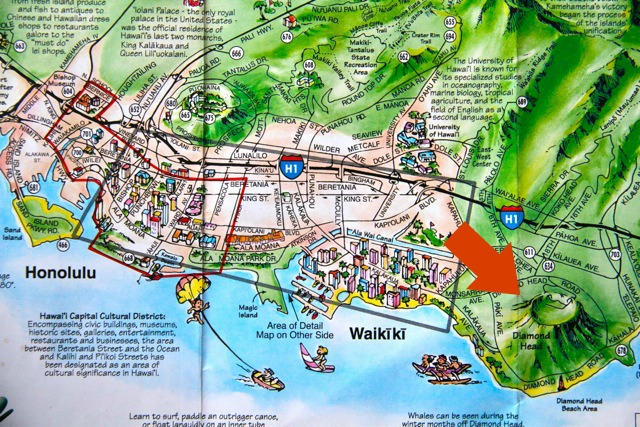 Diamond Head Map