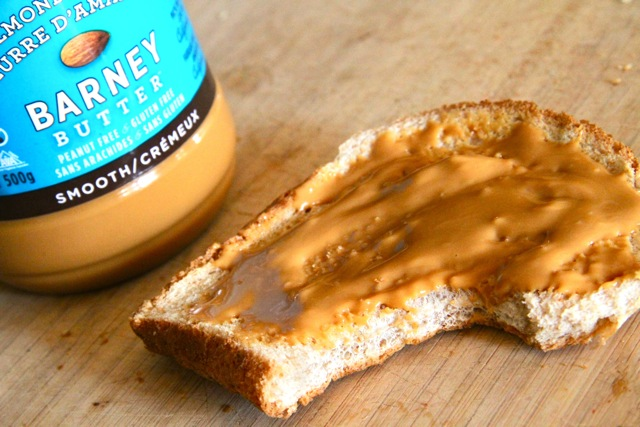 Almond Butter on Toast