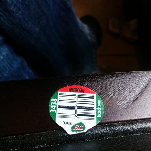 Ambrosia Sticker