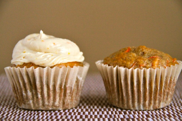 Cupcake and Muffin