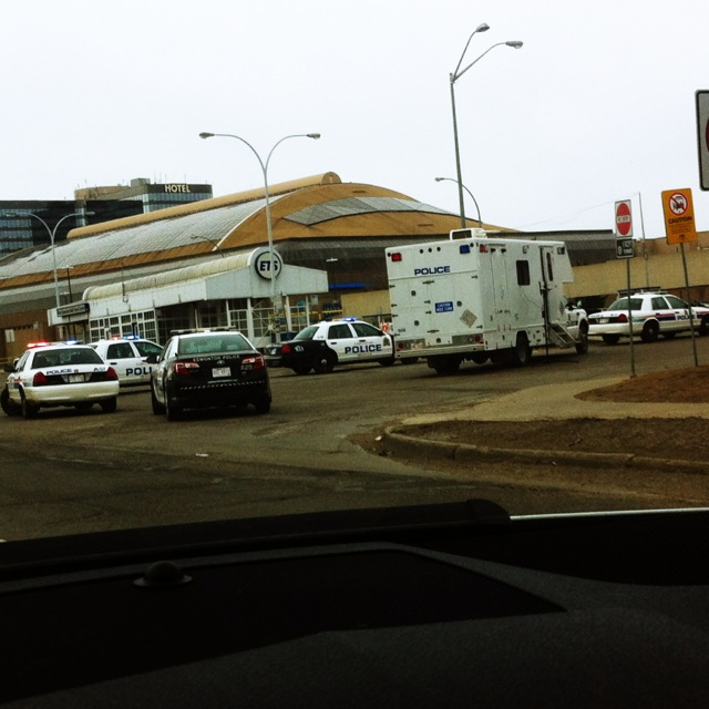 Edmonton Bomb Threat