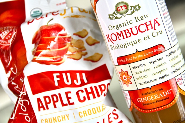 Kombucha and Chips