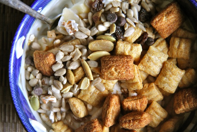 Trail Mix and Cereal