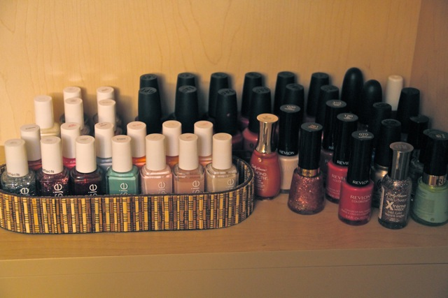 Nail Polish Clutter