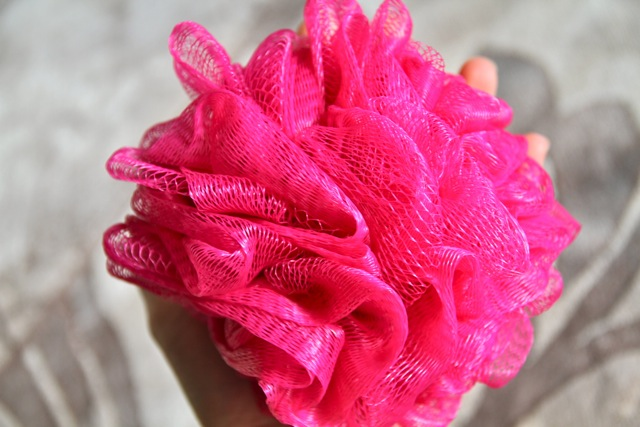 Pink Loofa