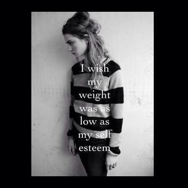 Weight and Self Esteem