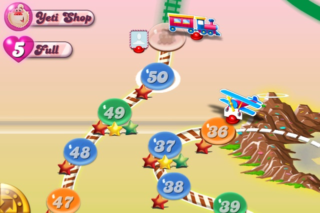 Candy Crush Progress