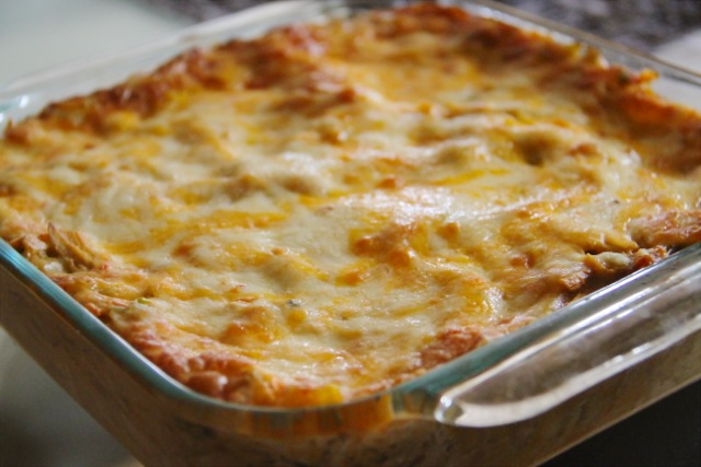 Chicken Enchilada Caserole