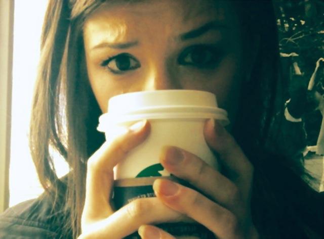 Hiding Behind Coffee