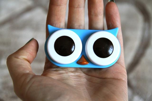 Owl Contact Case