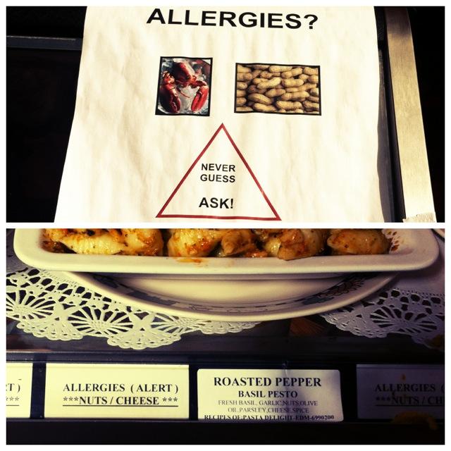 Allergy Warning