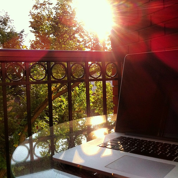 Blogging and Sunshine