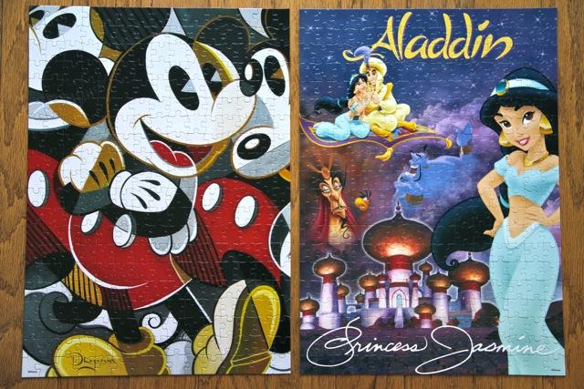 Easy Disney Puzzle