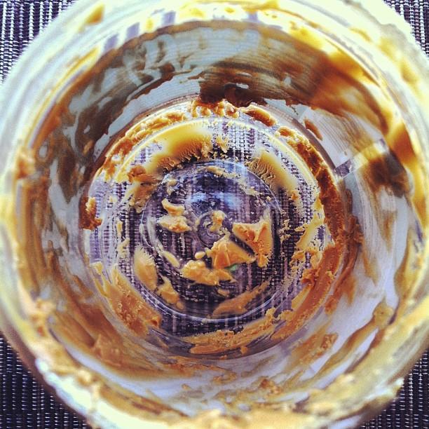 Empty Nut Jar