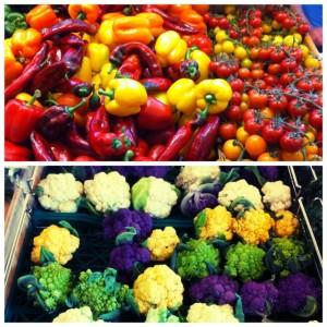 Farmers Market Colors