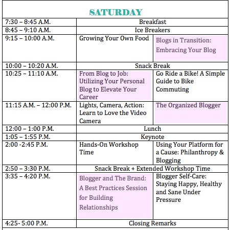 . blogging tips from healthy living summit .