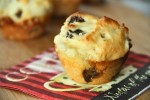 Fig and Goat Cheese Muffin