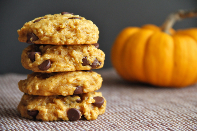 Image result for Pumpkin Chocolate Chip Cookies
