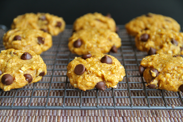 Freshly Baked Pumpkin Cookies
