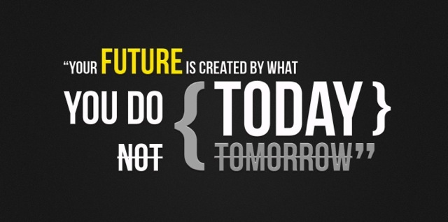 Future Created Today