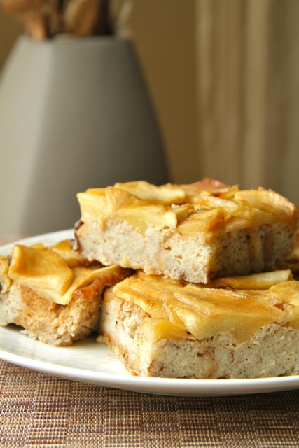 Gluten Free Apple Bread Pudding