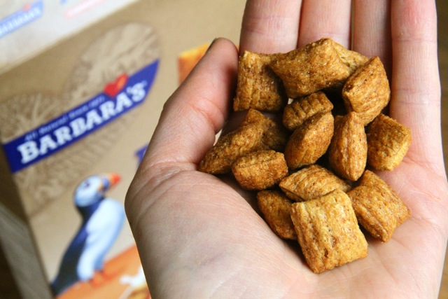 Handful of Cereal