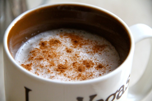 Homemade Cinnamon Latte