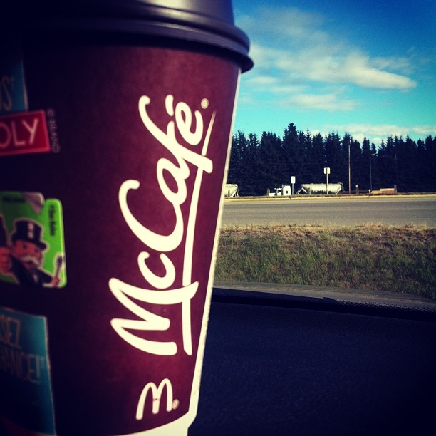 McCafe on the Road