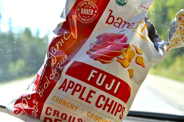 Road Trip Apple Chips