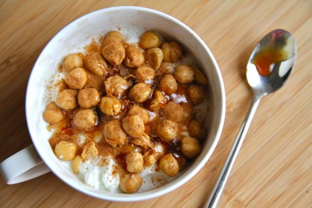 Yogurt and Chickpeas