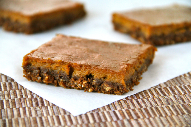 Gingerbread Pumpkin Bar