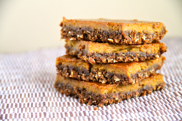 Stacked Gingerbread Bars