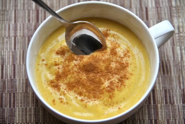 Creamy Kabocha Pudding