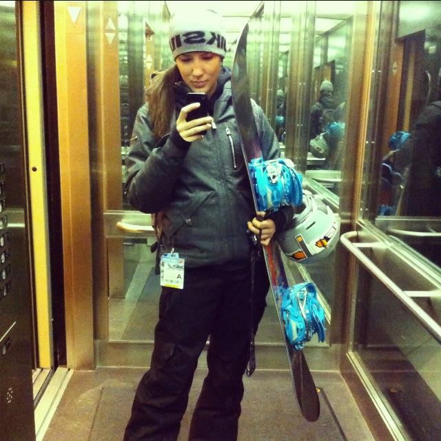 Elevator Boarding Selfie