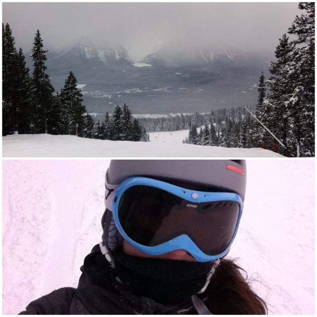 Snowboarding Selfies