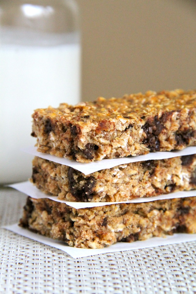 and Chewy Protein Granola Bars -- easy, healthy, homemade granola bars ...